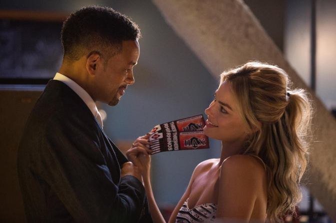 "New Trailer for Margot Robbie-Will Smith Starrer ""Focus"" Released"