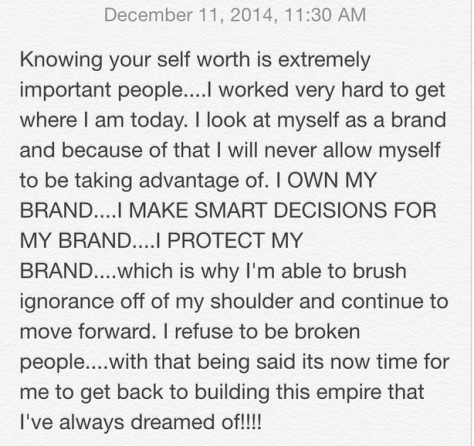 Kevin Hart Instagram response