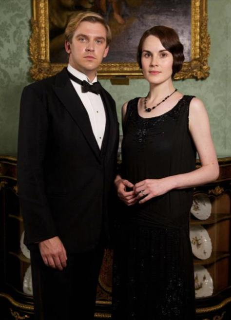 downton abbey matthew and mary