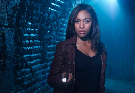 SLEEPY HOLLOW: Nicole Beharie. 2014 Fox Broadcasting Co. CR: David Johnson/FOX