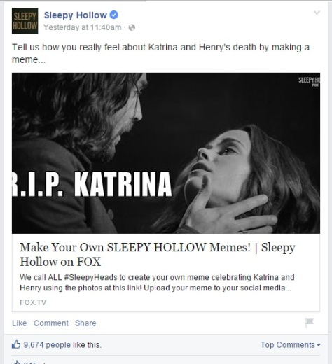 Sleepy-Hollow-FOX-Facebook-death-memes-Katrina-colorwebmag