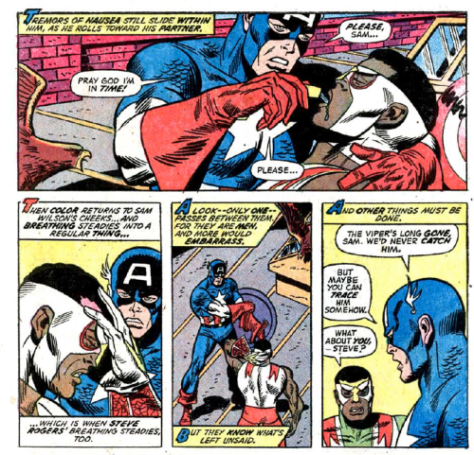 Falcon-Captain America-1973-Marvel
