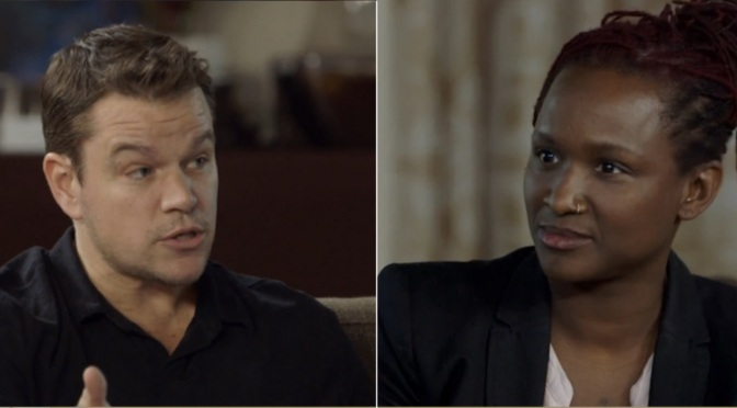 Twitter's Latest Dragging Features Matt Damon and #Damonsplaining